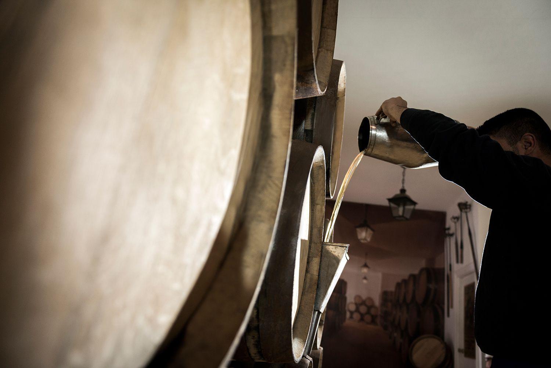 Tonel vino Jerez sherry barrels